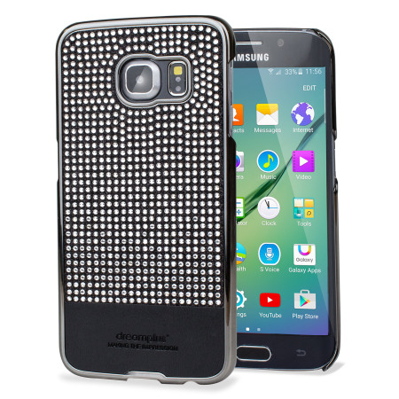 Samsung Galaxy S6 Edge Persian Neo Bling Case - Black