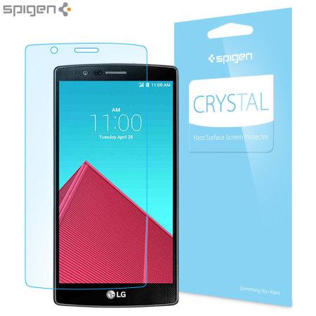 Spigen Crystal LG G4 Screen Protector - Three Pack