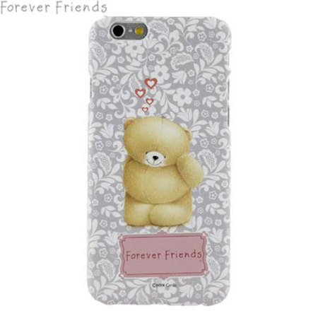 Forever Friends iPhone 6S / 6 Case with Screen Protector - Shy Bear
