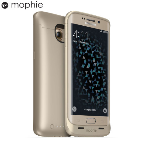 Mophie Juice Pack Samsung Galaxy S6 Edge Battery Case - Gold