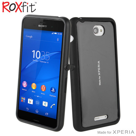 Roxfit Gel Shell Slim Sony Xperia E4 Case - Black