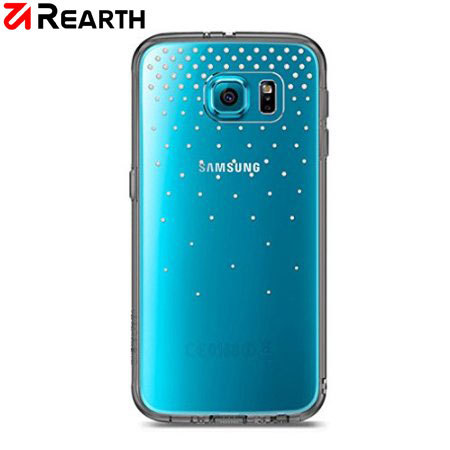 Rearth Ringke Fusion Noble Samsung Galaxy S6 Edge Bling Case - Snow