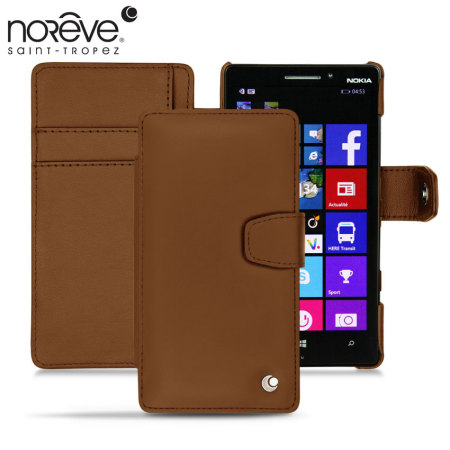 Noreve Tradition B Nokia Lumia 930 Leather Case - Marron