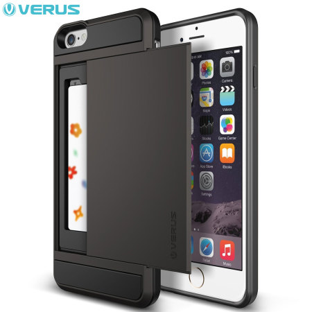 Verus Damda Slide iPhone 6S Plus / 6 Plus Case - Dark Silver