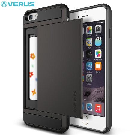 verus damda slide iphone 6s 6 case dark silver