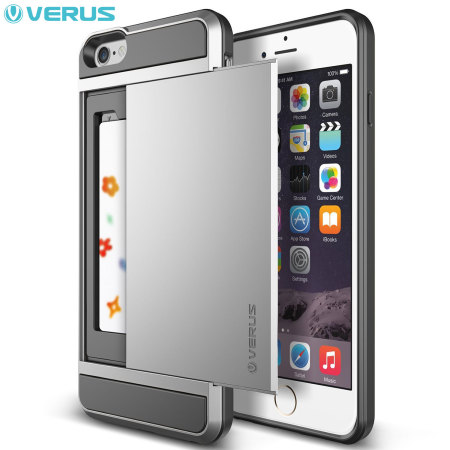 Verus Damda Slide iPhone 6S Plus / 6 Plus Case - Satin Silver
