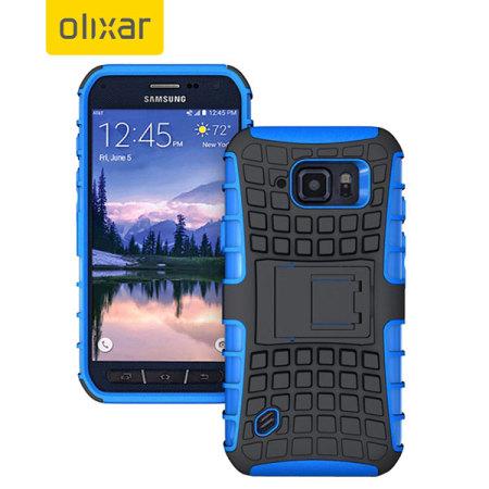 ArmourDillo Samsung Galaxy S6 Active Protective Case - Blue
