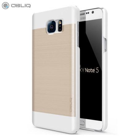 Funda Samsung Galaxy Note 5 Obliq Slim Meta - Oro Champán