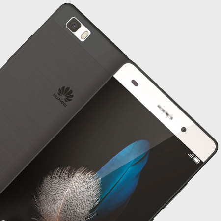 FlexiShield Huawei P8 Lite Case - Smoke Black