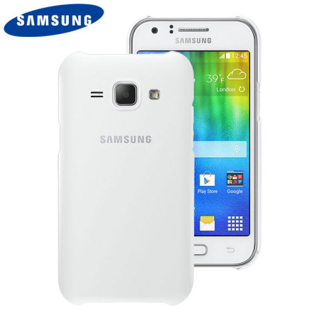 Official Samsung Galaxy J1 2015 Protective Cover Case - White