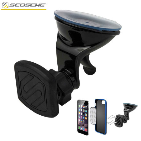 Scosche Magic Mount Magnetic Car Dash/Window & Desk Holder - Black