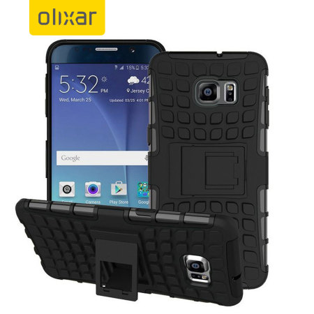 Olixar ArmourDillo Hybrid Samsung Galaxy Note 5 Case - Black