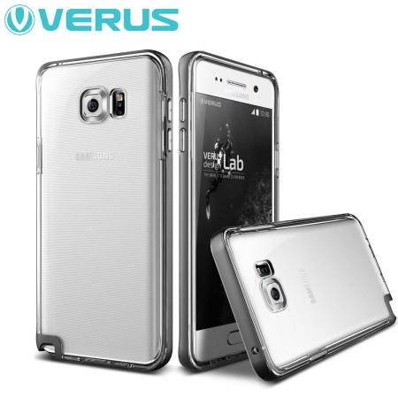Verus Crystal Bumper Series Samsung Galaxy Note 5 Case - Steel Silver