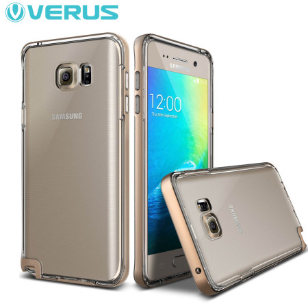 Verus Crystal Bumper Series Samsung Galaxy Note 5 Case - Gold