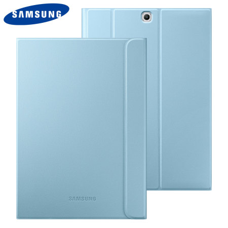 cheap for discount 27d72 ee5b4 Official Samsung Galaxy Tab S2 9.7 Book Cover Case - Blue