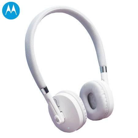 7dc689f204a Motorola Moto Pulse Bluetooth Headphones - White