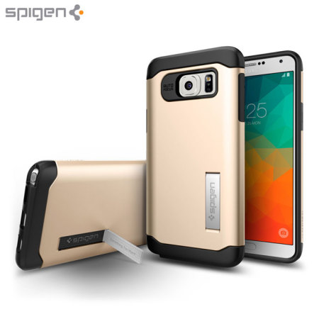 another chance d12b1 8cfb0 Spigen Slim Armor Samsung Galaxy Note 5 Case - Champagne Gold