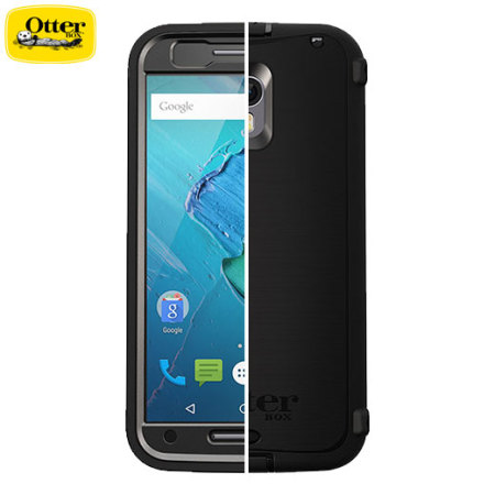 san francisco 83700 7ca4f OtterBox Defender Series Motorola Moto X Pure Edition Case - Black