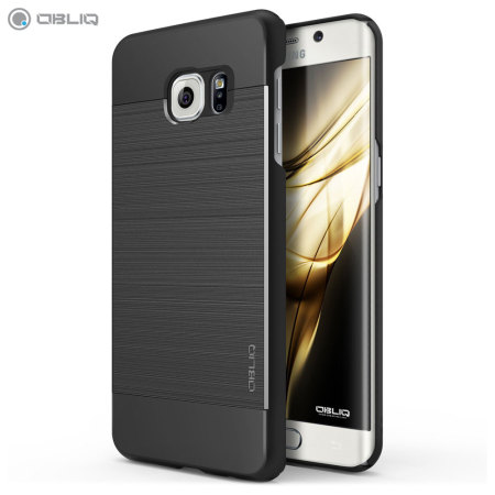 Obliq Slim Meta Samsung Galaxy S6 Edge Plus Case - Titanium Black