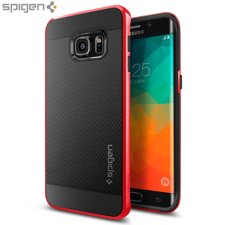 innovative design d47da ca8de Spigen Neo Hybrid Carbon Samsung Galaxy S6 Edge Plus Case - Dante Red