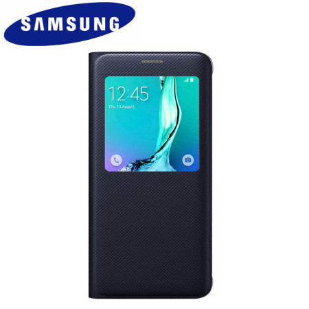 Official Samsung Galaxy S6 Edge Plus S View Cover Case - Blue / Black
