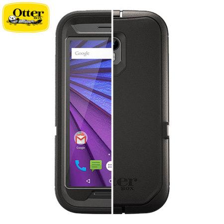 0da6d85b513 Funda Motorola Moto G 3ª Gen Otterbox Defender Series - Negra