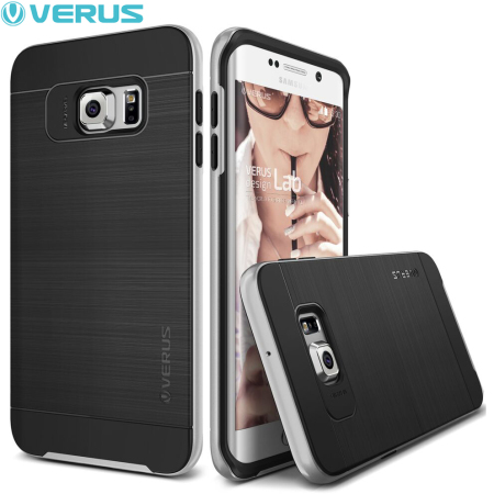 Verus High Pro Shield Samsung Galaxy S6 Edge Plus Case - Light Silver
