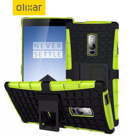 Olixar ArmourDillo OnePlus 2 Protective Case - Green
