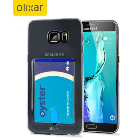 f925c394ec4 Funda Samsung Galaxy S6 Edge+ FlexiShield Slot - Gris