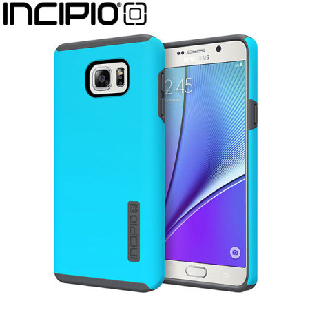 Incipio DualPro Samsung Galaxy Note 5 Case - Blue / Grey