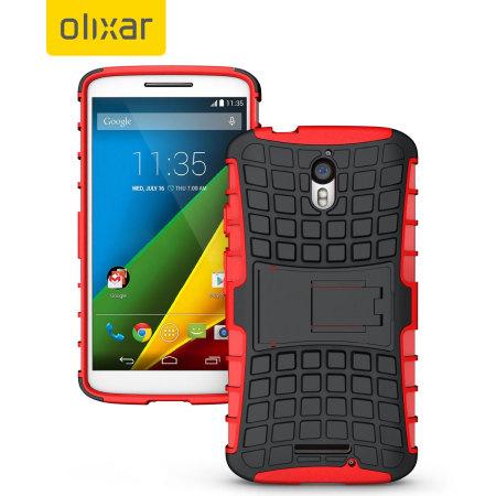 5cb68231d98 Funda Motorola Moto X Play ArmourDillo Protective - Roja