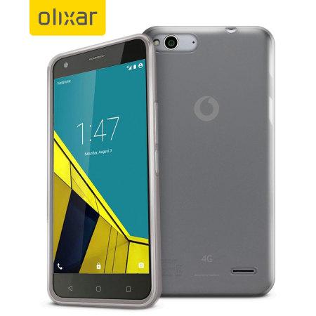 FlexiShield Vodafone Smart Ultra 6 Gel Case - Clear