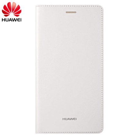 Official Huawei P8 Flip Cover Case - White