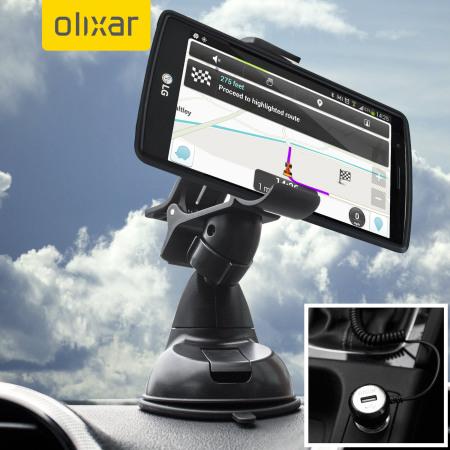Olixar DriveTime LG G4 Car Holder & Charger Pack