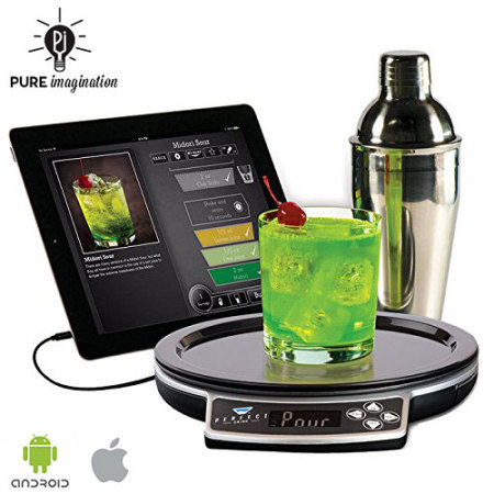 Perfect drink app controlled smart cocktails bartending for Perfect drink bluetooth scale