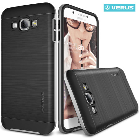 Verus High Pro Shield Series Samsung Galaxy A8 Case - Light Silver