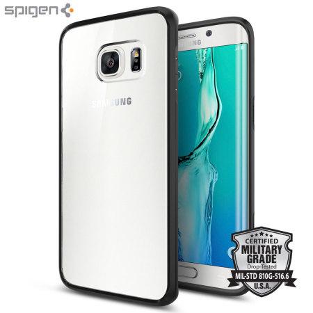 Spigen Ultra Hybrid Samsung Galaxy S6 Edge Plus Case - Black