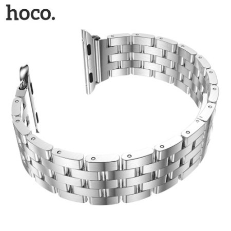 Hoco Apple Watch 2 / 1 Stainless Steel Linear Band - 38mm - Silver