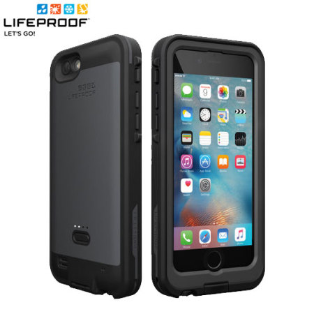 sports shoes 7ccac 876fc LifeProof Fre Power iPhone 6S / 6 Waterproof Battery Case - Black