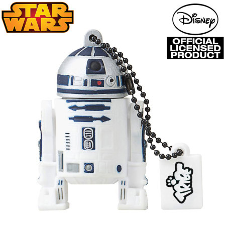 star wars r2d2 8gb usb flash drive keyring. Black Bedroom Furniture Sets. Home Design Ideas