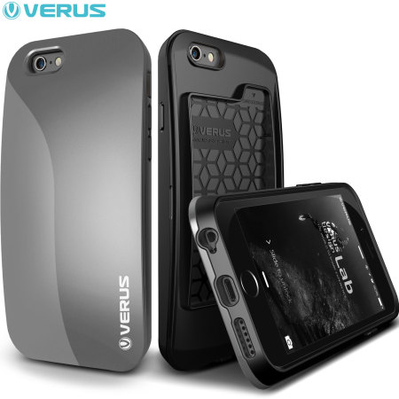 Verus Pebble iPhone 6S / 6 Case - Dark Silver