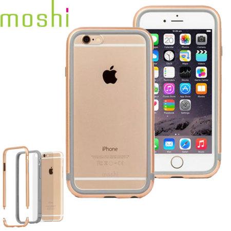 Moshi iGlaze Luxe iPhone 6S / 6 Bumper Case - Champagne Gold