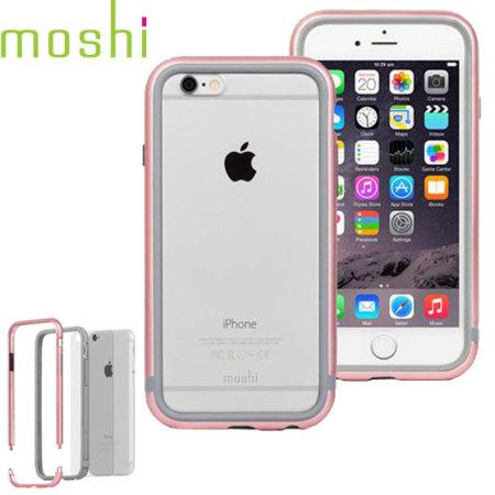 online store 158bf 95c01 Moshi iGlaze Luxe iPhone 6S / 6 Bumper Case - Rose Gold