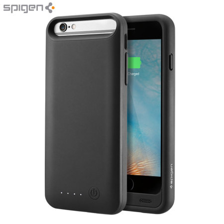 best loved 75e94 8772e Spigen iPhone 6S Battery Case Volt Pack - Black