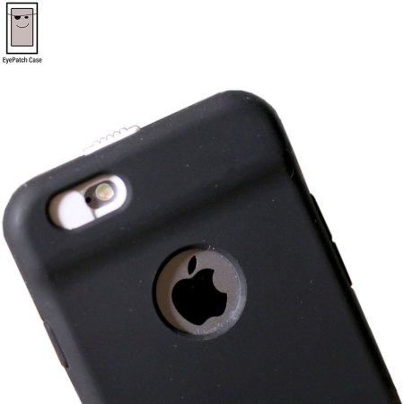 45b5380c48 EyePatch iPhone 6S / 6 Camera Lens Privacy Case - Black