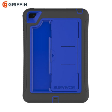 Griffin Survivor Slim iPad Mini 4 Tough Case - Blue / Black