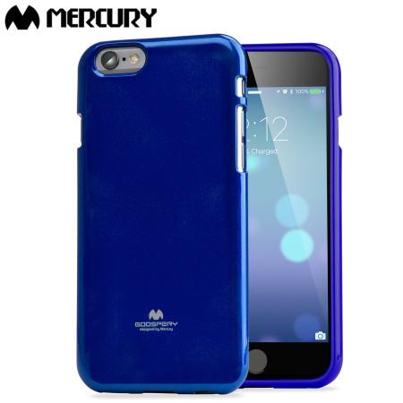 reputable site 7ccc7 3549a Mercury Goospery Jelly iPhone 6S / 6 Gel Case - Blue