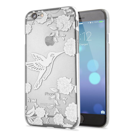 Adarga Hummingbird Iphone 6s 6 Case Clear White