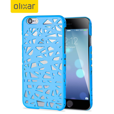 Olixar Maze Hollow iPhone 6S / 6 Case - Sky Blue