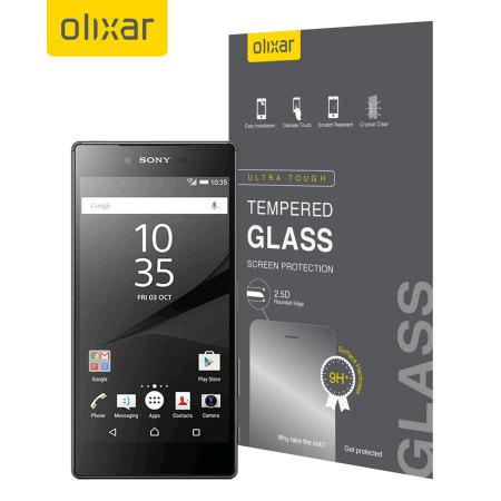 Olixar Sony Xperia Z5 Compact Tempered Glass Skärmskydd